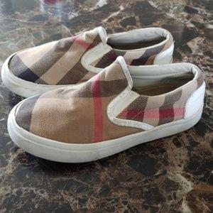 Kids Burberry shoes